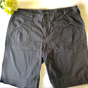Calvin Klein women's black casual shorts size 14